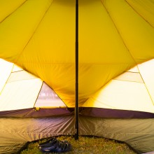 Wiglo 6-10 Tentにインストールした状態